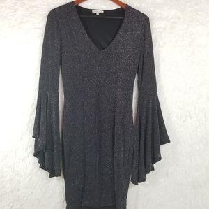 Charlotte Russe black dress Sz S